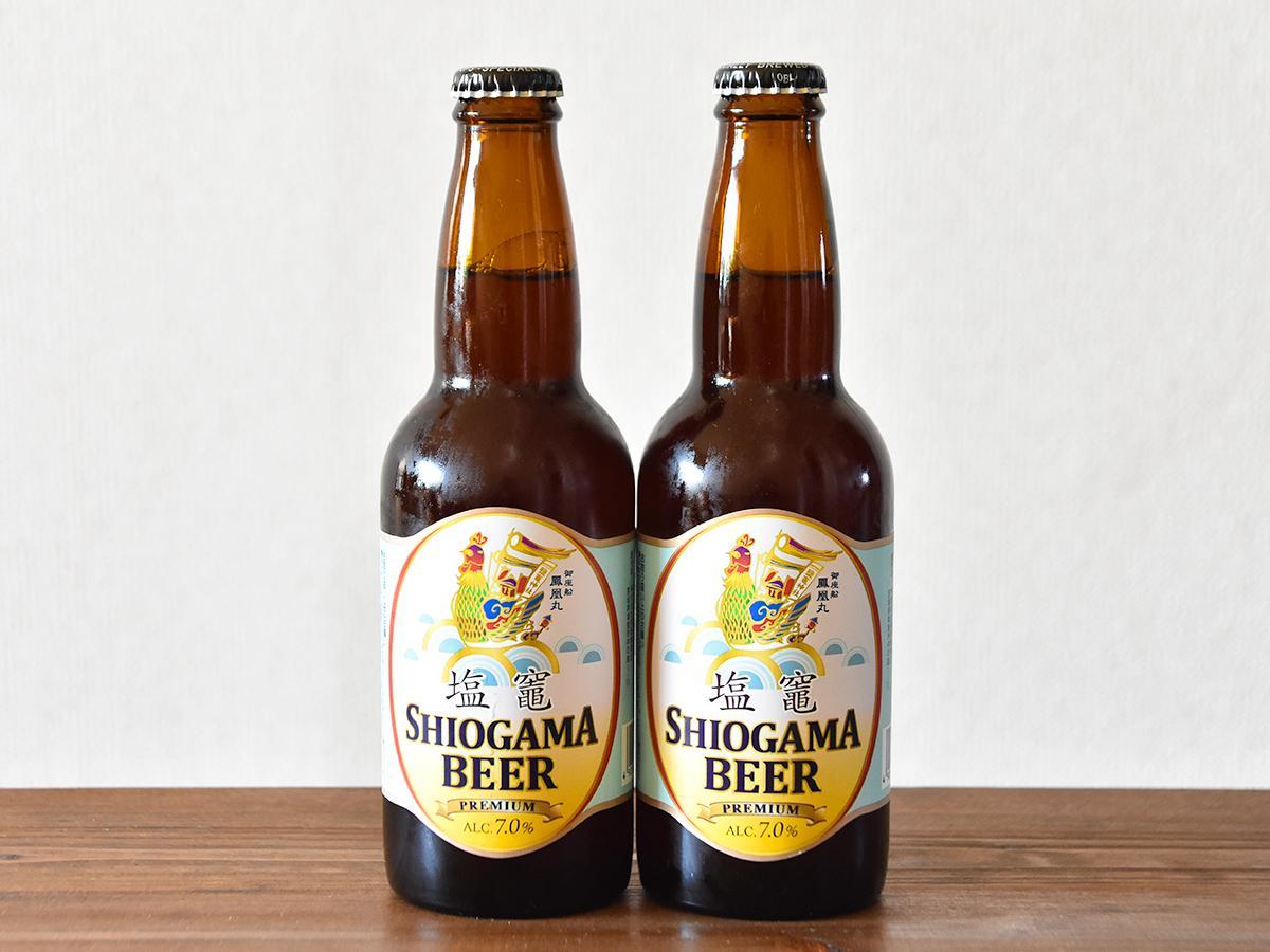 阿部善商店が販売を始めた「塩竈ビール」