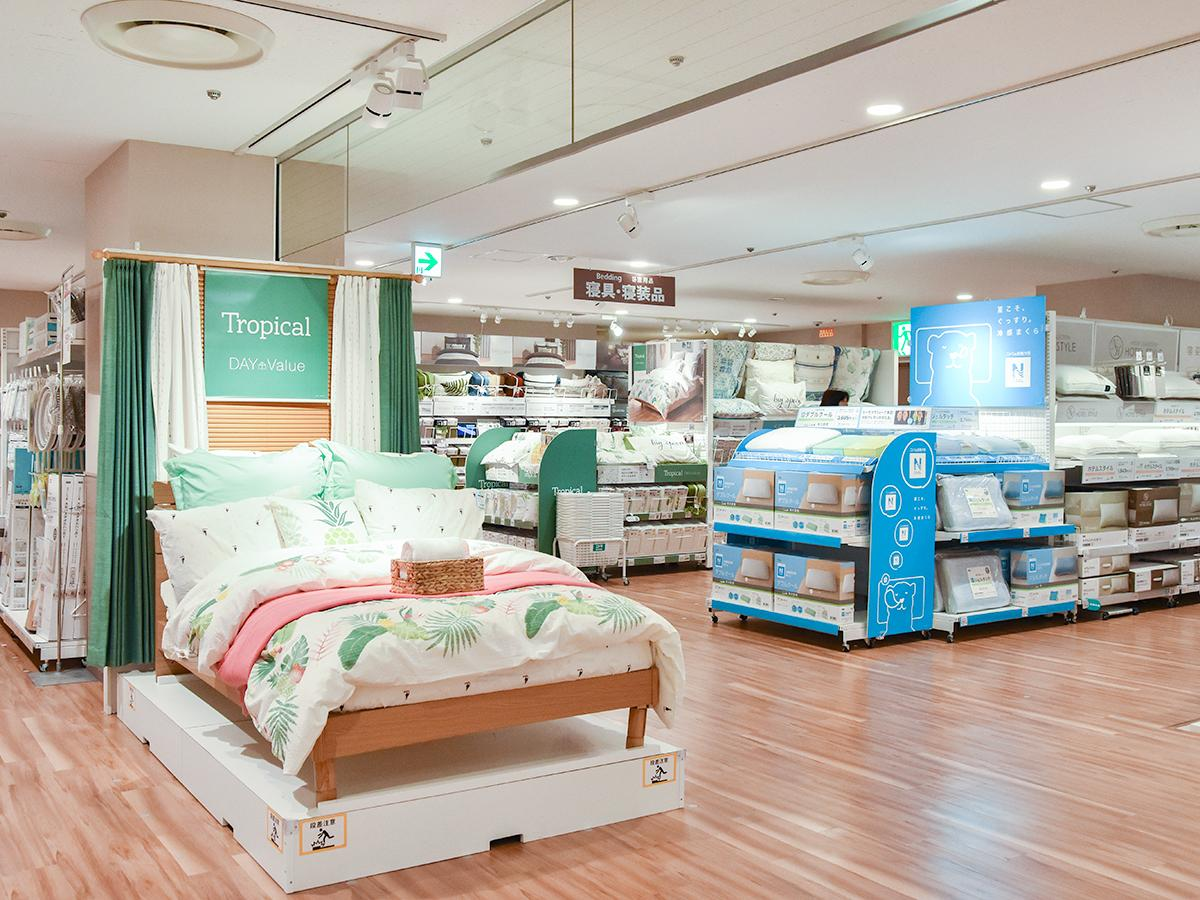 仙台ロフト5階で展開するニトリの都心型小型店「ニトリEXPRESS」