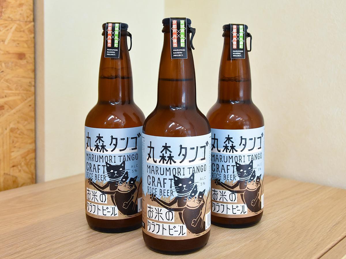 「いざ初陣」を使ったクラフトビール「丸森タンゴ」