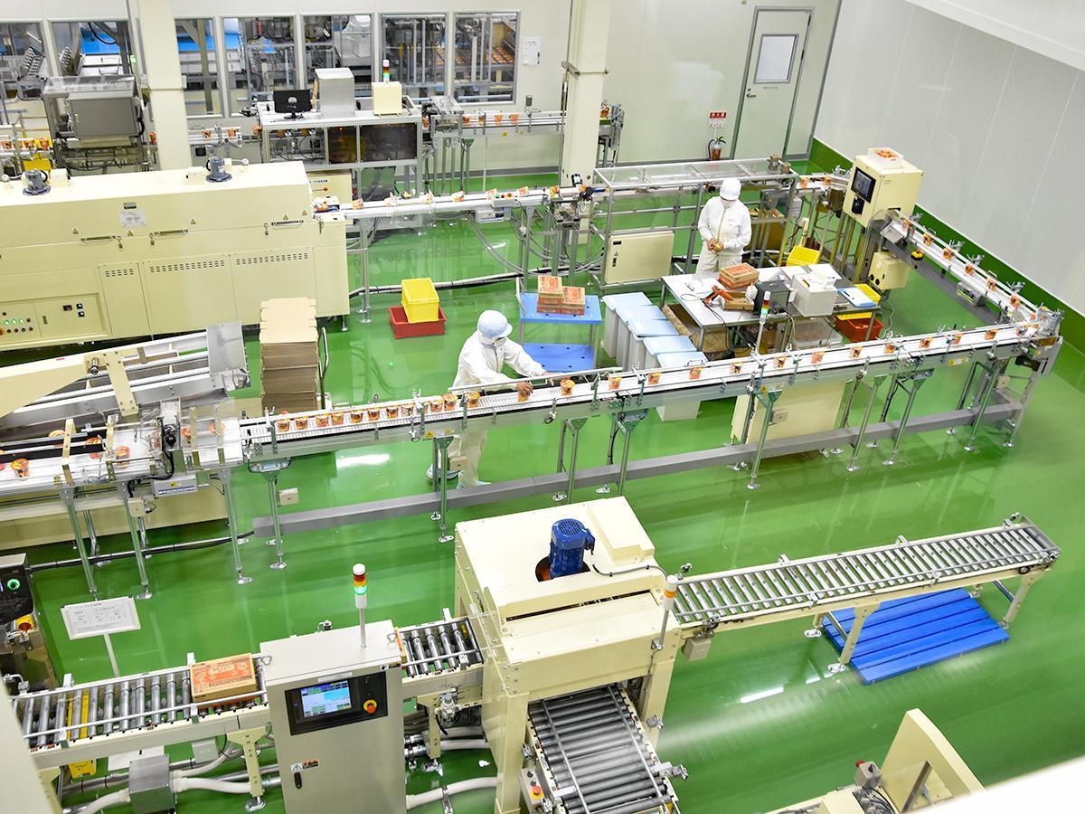 カップ入りスープを製造するポッカサッポロフード&ビバレッジ仙台工場