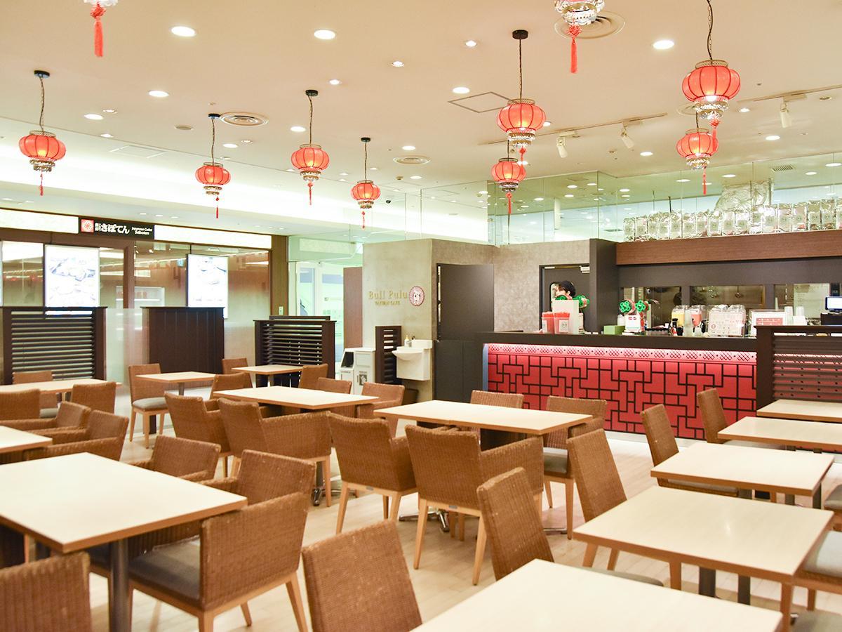 「ブルプル 台湾カフェ」店内
