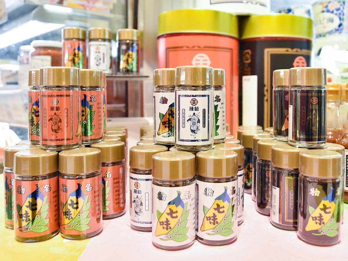 「仙台名物に合う七味」が並ぶ藤崎本館地下2階マイキッチン
