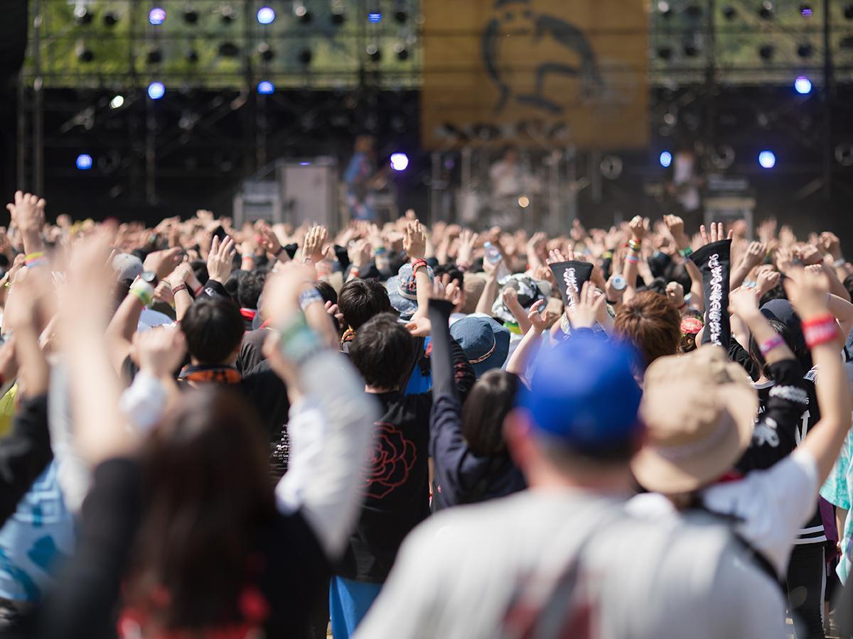 2日間で約120組のアーティストが出演し、過去最多となる延べ5万8000人が来場した昨年の様子