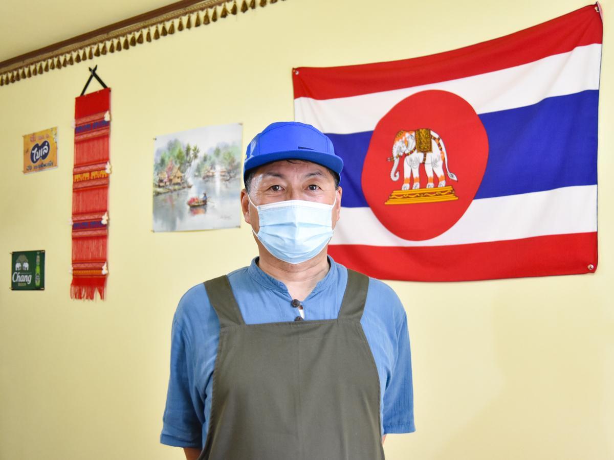 「タイ料理を気軽においしく食べてもらいたい」と店を開いた堀越さん