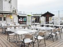 仙台・藤崎でビアガーデン フリータイム飲み放題で料理単品販売、音の演出も
