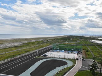 名取市サイクルスポーツセンター、グランドオープンへ 震災から9年半経て再建