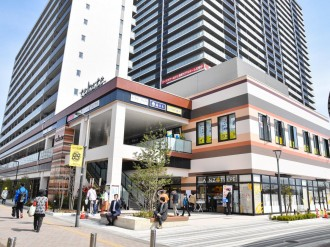 長町に商業施設「tekuteながまち2」 カフェ、串カツ店、ドラッグストアなど
