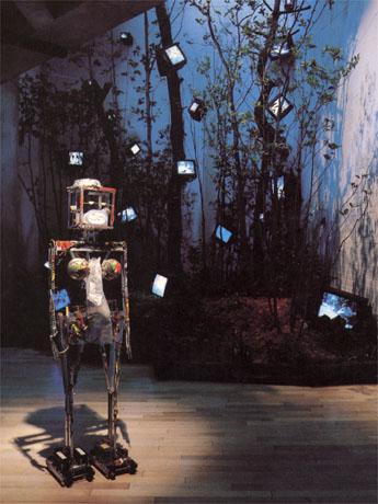 「ロボットK567」と「ケージの森/森の啓示」1993
