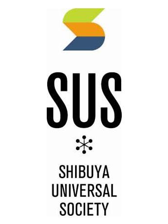 複合カフェ「SUS」が復活、渋谷1丁目に新店舗(写真=「シブヤユニバーサルソサエティ」のロゴ)