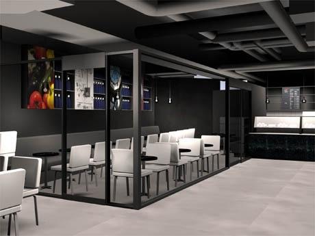 ロンドン発のサンドイッチ・カフェ「benugo」がHMV渋谷の2階に出店(写真=店舗イメージ)
