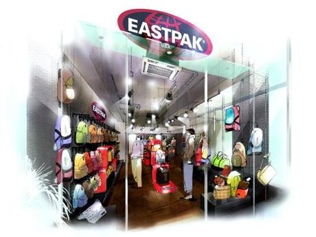 米カジュアル・バッグブランド「イーストパック」が原宿にアジア初の路面店(写真=店舗イメージ)