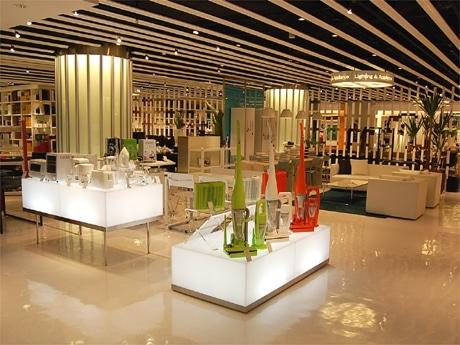渋谷パルコ・パート2の改変に伴い、「フランフラン」旗艦店が全面リニューアル(写真=売り場の様子)