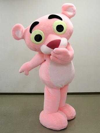 幼少期のピンクパンサー「リトル・ピンクパンサー」(コスチューム)。3日と4日、キデイランド原宿に「初登場」する
