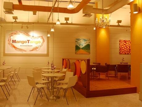 「マンゴタンゴ代官山店」店内の様子。「マンゴタンゴ」はタイ・バンコクに2店舗を構える人気店