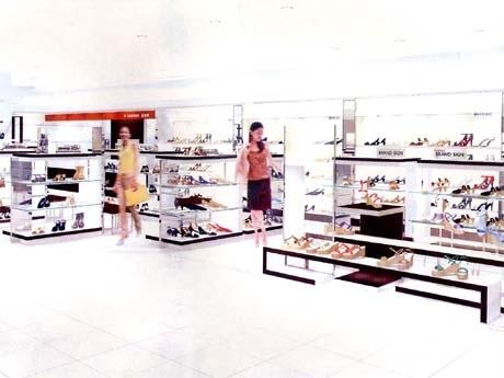 婦人靴売り場「キャリアゾーン」改装後のフロアイメージ