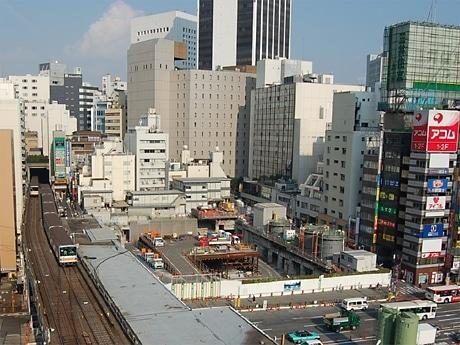 高層ビルの建設が決まった渋谷東急文化会館跡地