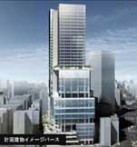 東急電鉄、渋谷・文化会館跡地の再開発計画を発表-2012年完成へ