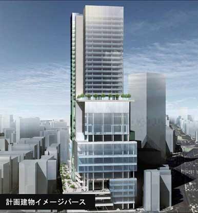 渋谷・東急文化会館跡地に建設予定の高層複合ビル(完成イメージ図)