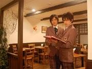 原宿に「男子校カフェ」-寄宿学校イメージ、「入校」手続きも