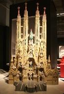 レゴで作った「世界遺産」展-専門職人による大作「サグラダファミリア」も