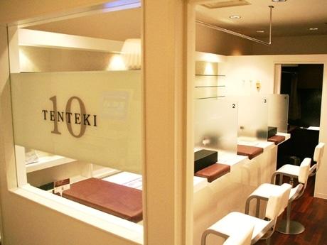 TENTEKI 10のカウンタースペースの様子