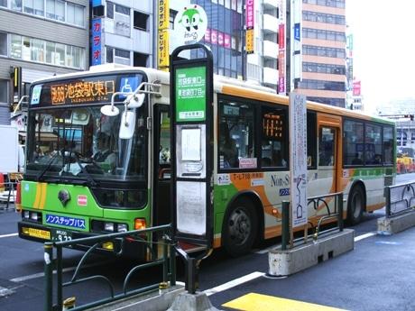 渋谷駅と池袋駅を結ぶ「池86系統」