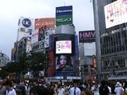 渋谷センター街のビジョンが全面リニューアル-省エネ・ワイド化へ
