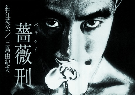 アート書店、ナディッフが発行する「薔薇刑」(復刻版)カバー。日本版・海外版を各500部限定で発売