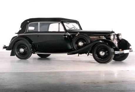 今月19日から約1年間にわたり公開される「Audi Front 225カブリオレ」(写真=イメージ)