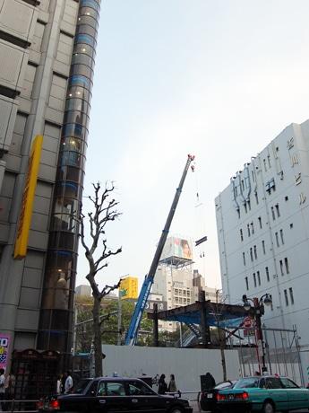 ルミネ初のメンズ専門館「LUMINE MAN SHIBUYA」出店予定地。隣はタワーレコード渋谷店