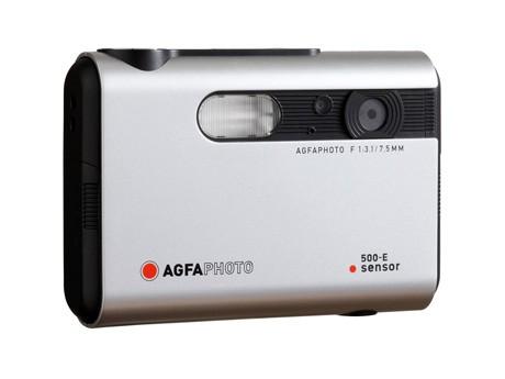「AGFA PHOTO」新作デジカメ。定番ラインアップを思わせるボディーカラーやシンボルのオレンジシャッターも