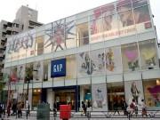 原宿駅前「ギャップ」大型旗艦店オープン迫る-店内を先行公開