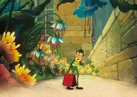 幻の傑作アニメ「バッタ君町に行く」が渋谷で公開。長旅から恋人の元に帰ってきたバッタ