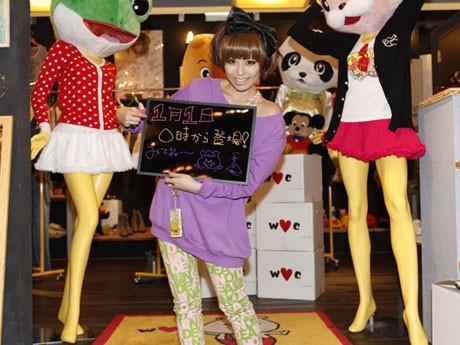 「ギャル時計」初のコラボ企画に若槻千夏さんらが期間限定で登場する