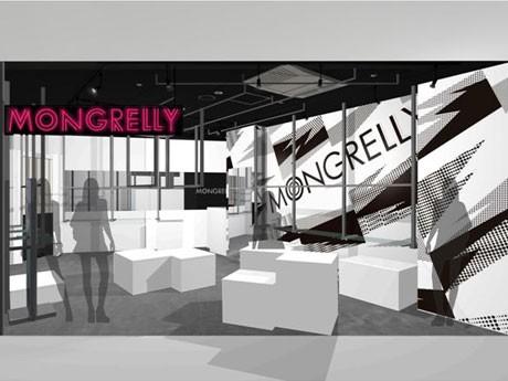 「109ステージ」出店4ブランドが決定。写真=新規出店する「MONGRELLY」のイメージ図