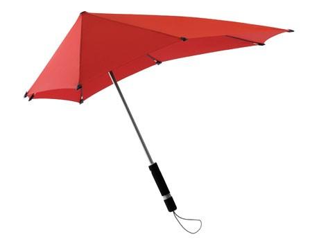 シブカサが無料レンタルを始めた前後非対称の雨傘「センズアンブレラ」