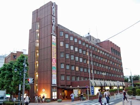 「渋谷東武ホテル」の外観