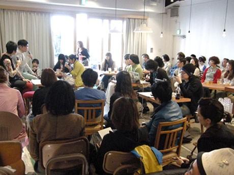 4月に開催された「ドリフのファッション研究室」第1弾会場風景