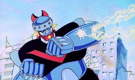 メカデザインでは、日本の巨大ロボットアニメの先駆け「マジンガーZ」との類似点も指摘される ©1976 Robot Taekwon V Co., Ltd. All Rights Reserved.