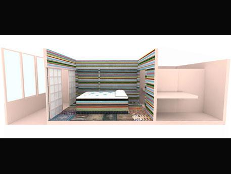 リチャード・ハッテンさんがデザインした307号室のパース画像 ©Richard Hutten Studio