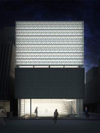 「基礎建築から作る」世界初のビルとなる「マーク ジェイコブス ビルディング」(イメージ)© Stephen Jaklitsch architects