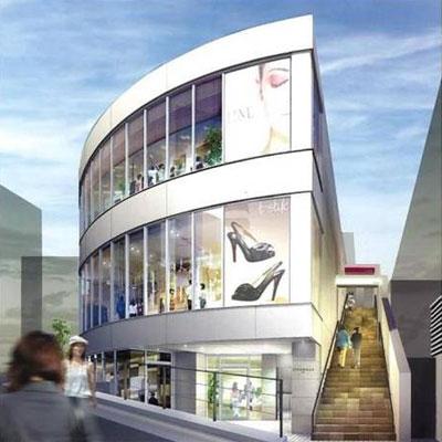 原宿にオープンする「ニコニコ本社」(写真=外観イメージ)にはサテライトスタジオやカフェなどを集積