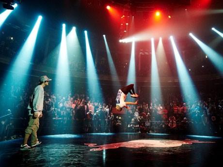 代々木第二体育館でブレイクダン・バトル「Red Bull BC One」が開催される。写真=昨年のニューヨーク大会の様子