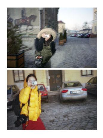 9年間互いを被写体に撮影を続けている喜多村みかさんと渡邊有紀さんの二人展「TWO SIGHTS PAST」より©Mika Kitamura & Yuki Watanabe