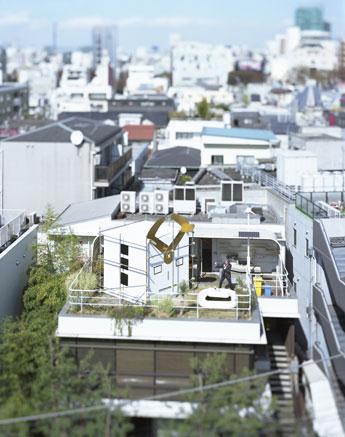 写真家・本城直季さんが手掛けたメーンビジュアル Photo:Naki Honjo