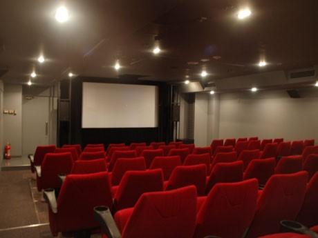 75席の「シアター1」と102席の「シアター2」の2スクリーンを設ける「シアターN渋谷」