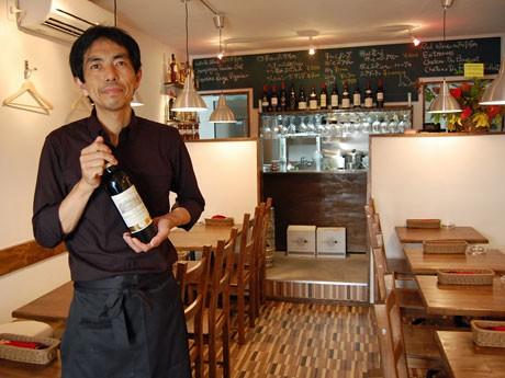 神泉に「ワイン食堂がっと」-飲食店経験者が独立、普段使いの店目指す