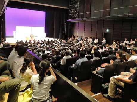 昨年11月に開催された際の「渋谷に福来たる~落語ムーヴ2011~」の様子