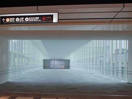 渋谷ヒカリエと渋谷駅方面を結ぶ新たな連絡通路