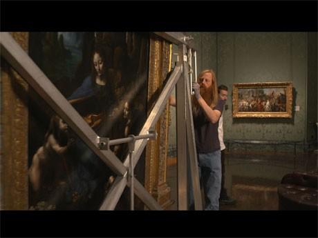 昨年ロンドンで開かれた展覧会を映像化した「レオナルド・ダ・ヴィンチ展 in シアター」より©BritishSkyBroadcasting / PhilGrabskyFilms.com